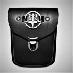 Pentagram cross belt bag