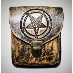 Baphomet belt bag - brown