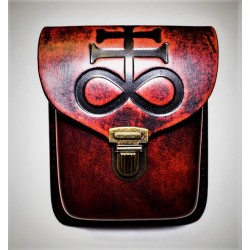 Leviathan belt bag - red