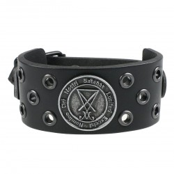 Luciferi bracelet - ring black