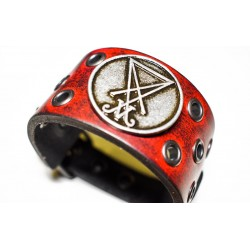 Luciferi bracelet - ring red