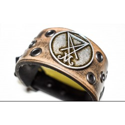 Luciferi bracelet - ring brown